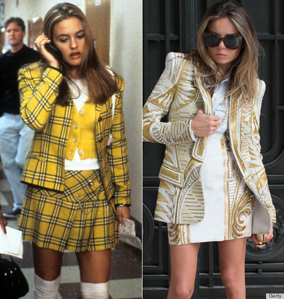 Fashion Editors Basically Dress Like Cher From 39 Clueless 39 Now Huffpost