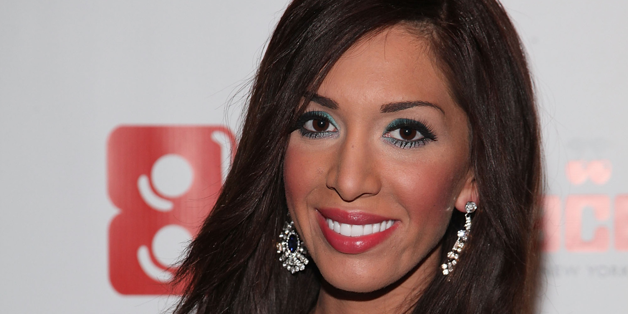 The 25-year old daughter of father (?) and mother(?), 170 cm tall Farrah Abraham in 2017 photo