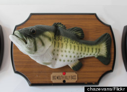 Big Mouth Billy Bass Scares Off Would-be Burglar