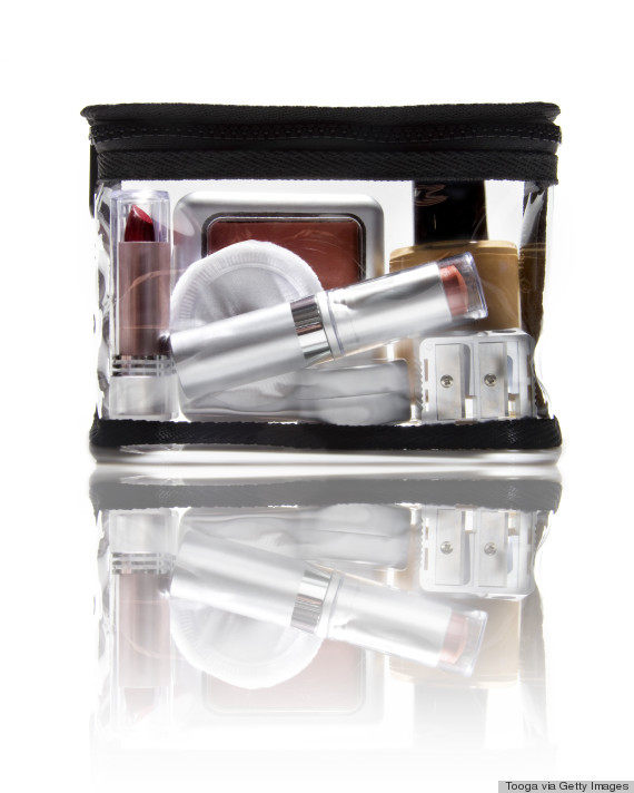 makeup bag average