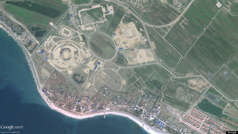 sochi olympics march 2010