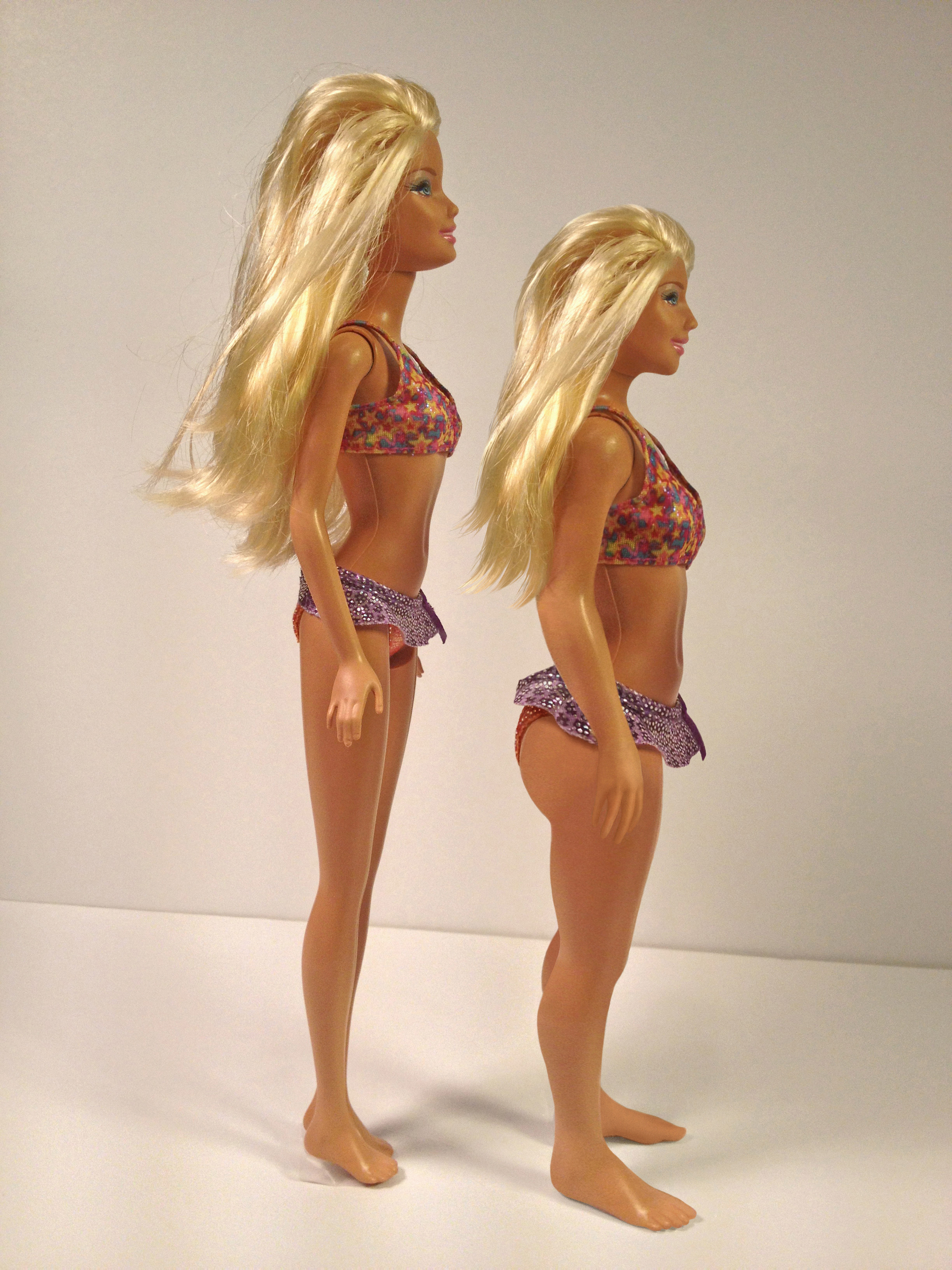 Barbie measurements human body