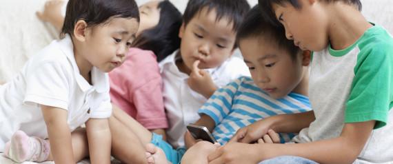 JAPAN SMARTPHONE CHILD