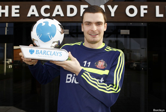 adam johnson player of the month