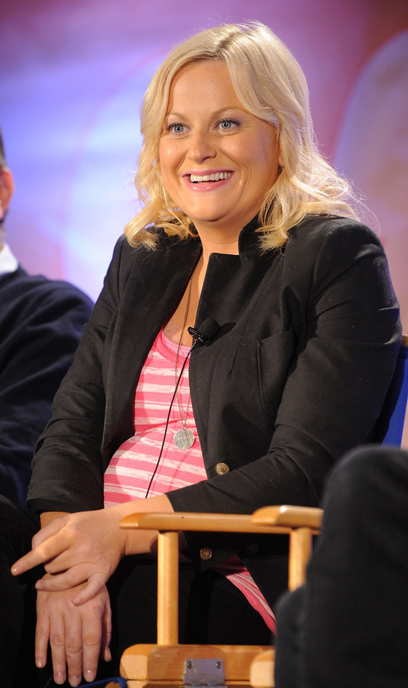 Amy Poehler Shows Off Baby Bump Photos Huffpost