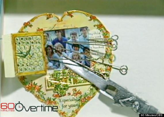 mia farrow valentines day card