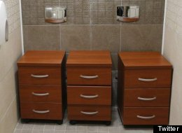 Sochi Double Toilets Start New Life As Stylish Three-Drawer Cabinets