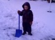 Here Is A 4-Year-Old Snow Shoveler Begging Jesus To Make It Warm