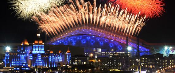 OPENING CEREMONY OF THE SOCHI WINTER OLYMPICS