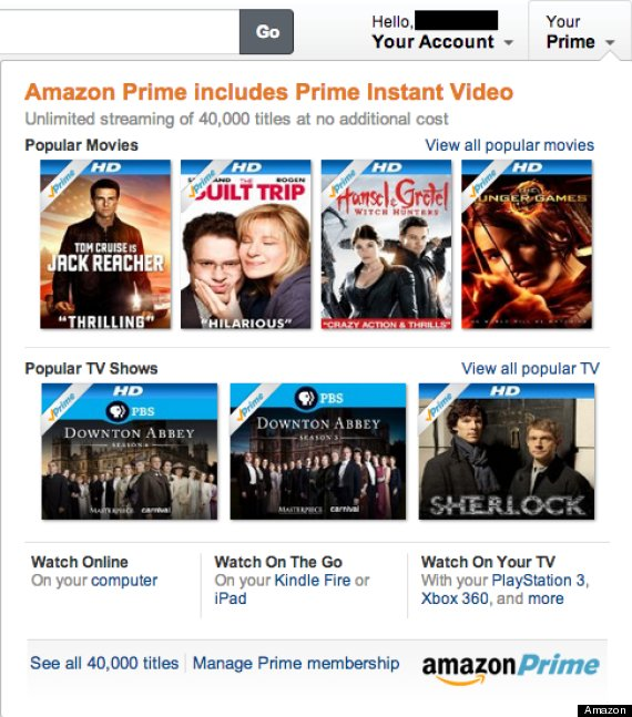 how to get amazon prime video in canada