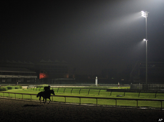 Kentucky Derby At Night Dark