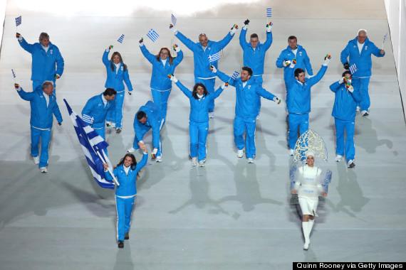 greece olympic team sochi