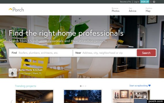 porch dot com The 10 Best Renovation Websites For Living Out Your Dream Home