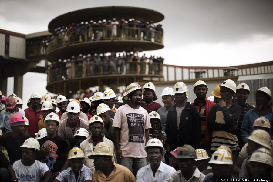 miners south africa