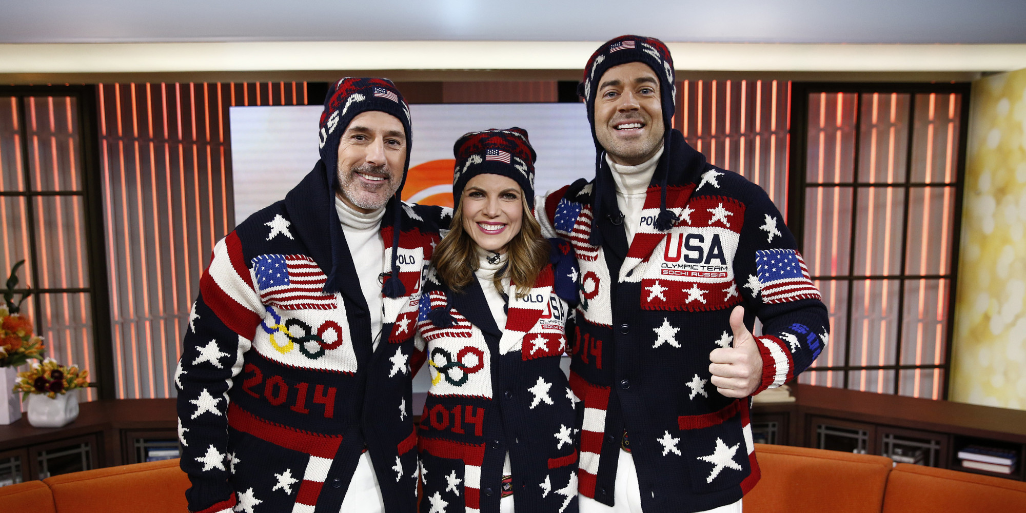 Usa Olympic Sweater Knit 118