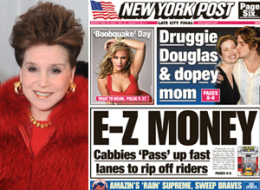 Cindy Adams New York Post