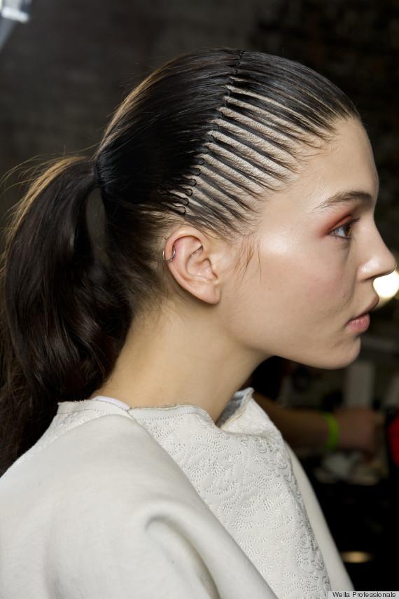 90s Comb Headbands Make A Comeback At Helmut Lang S Fall