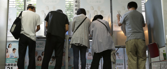 ELECTION TOKYO VOTE