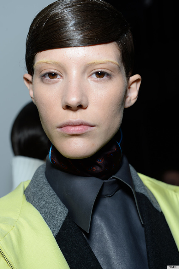 alexander wang fall 2014 hair