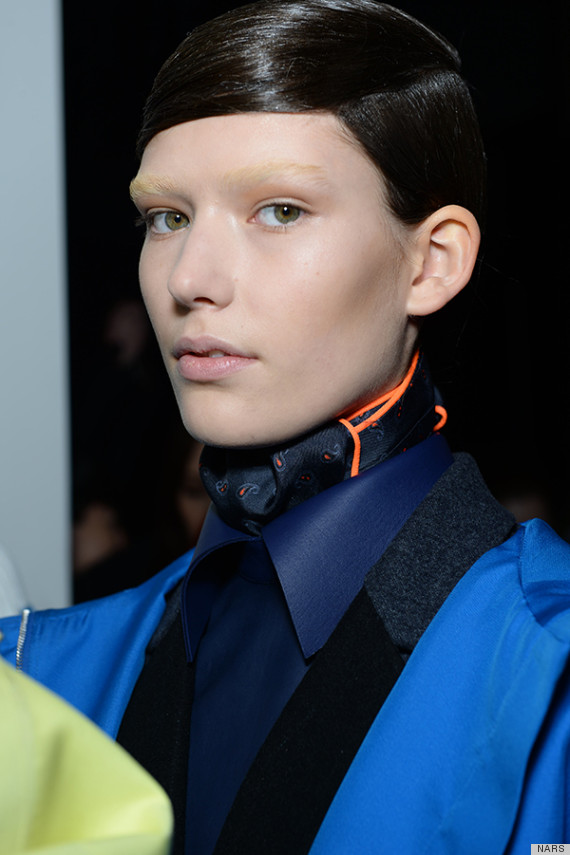 alexander wang fall 2014 makeup