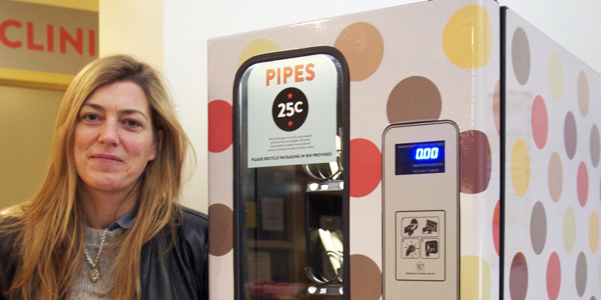 pipe vending machine