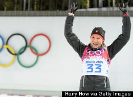 Slovakian Biathlete Makes History In Sochi