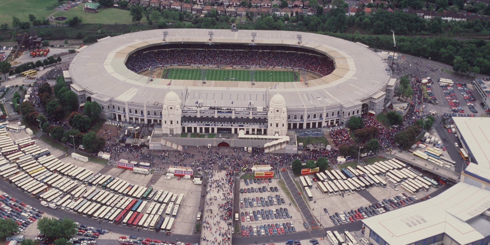 Wembley Stadion Alt