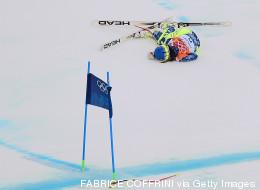 Esquiadora chilena sufre tremenda caída en Sochi (FOTOS)