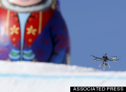 Yes, That Is An Olympic Drone Over Sochi