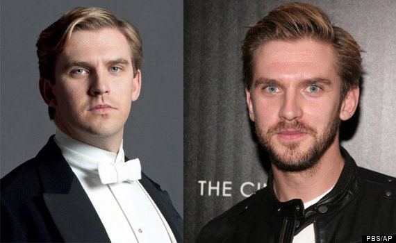 Downton abbey characters dating in real life