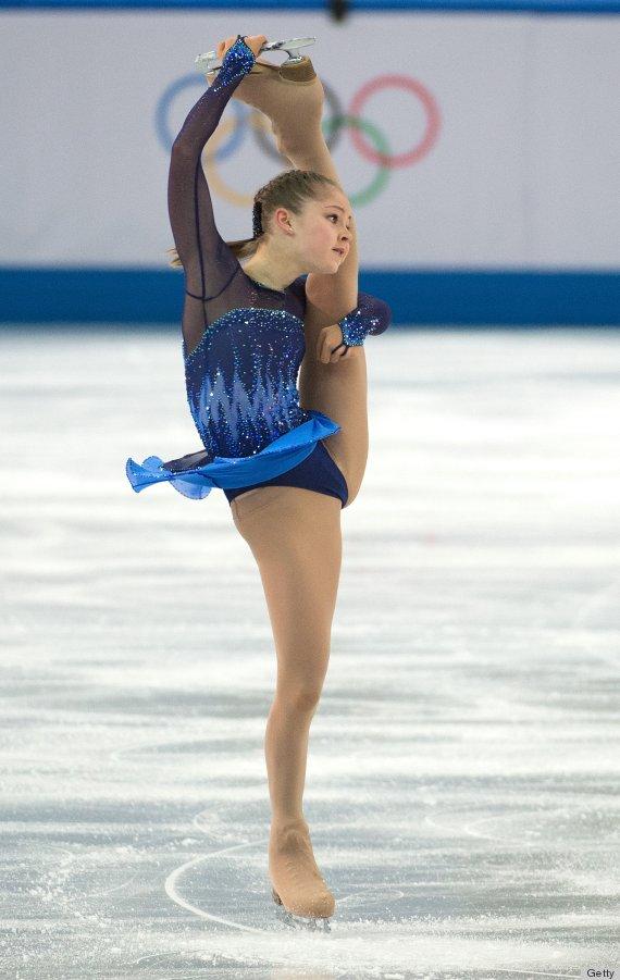 figure skater julia lipnitskaia can bend her body in ways