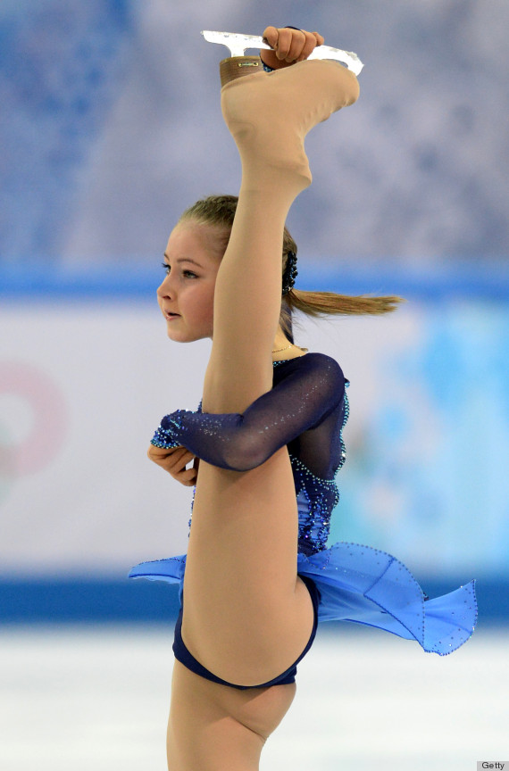 Pity, Female ice skaters naked has