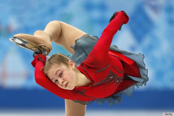 figure skater julia lipnitskaia