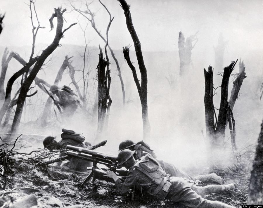 first world war trench