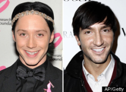 Johnny Weir Evan Lysacek Stars On Ice