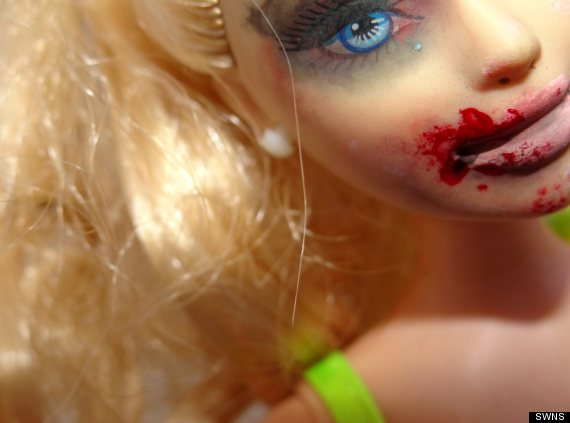 domestic violence barbie