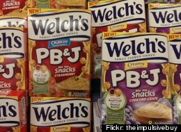 Welch's PB&J Snacks Are Going To Freak Your Brain Out