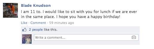 blake facebook