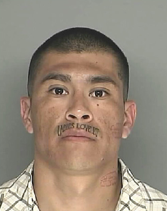 The Worst Face Tattoos 25 Bad Face Tattoos In Mugshots