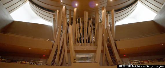 disney hall organ