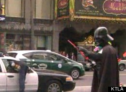 CAUGHT ON TAPE: Superman, Vader Do Nothing During Crazy Smash-And-Grab