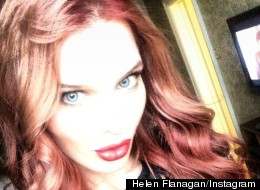 Red Alert! Hel-Flan Poses For First 'Ginger' Selfie