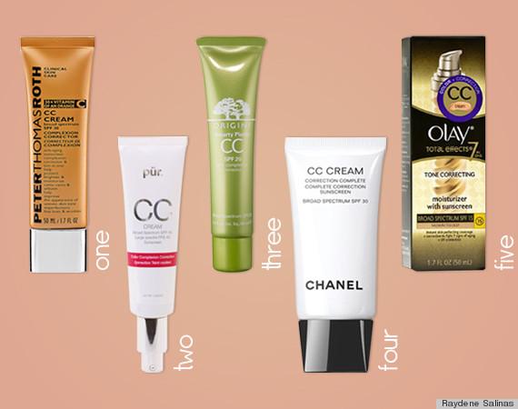cc cream collage