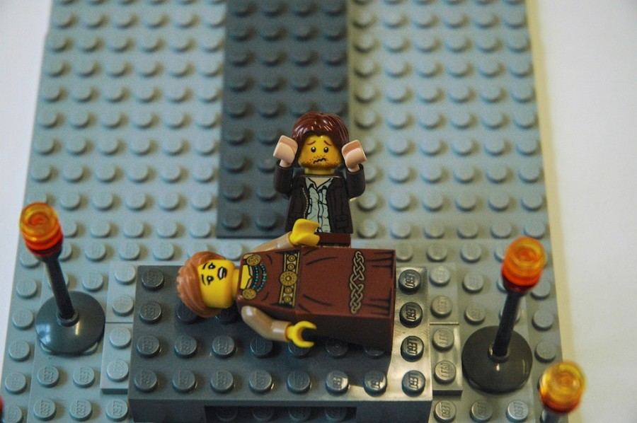 These Are Your Favorite Scenes From Classic Literature, Hilariously Recreated In Lego Ah, classic literature.