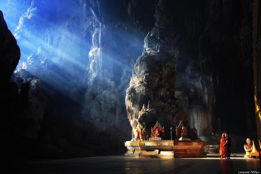 Buddhist Cave Temples Are Jaw-Droppingly Gorgeous O-IN-THE-CAVE-LEOPARD-900