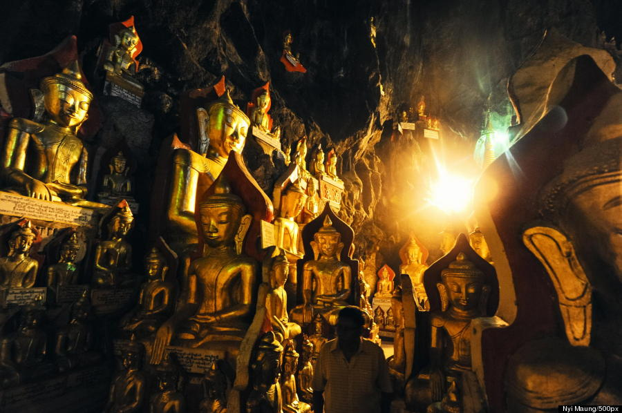 Buddhist Cave Temples Are Jaw-Droppingly Gorgeous O-PINDAYA-CAVE-900
