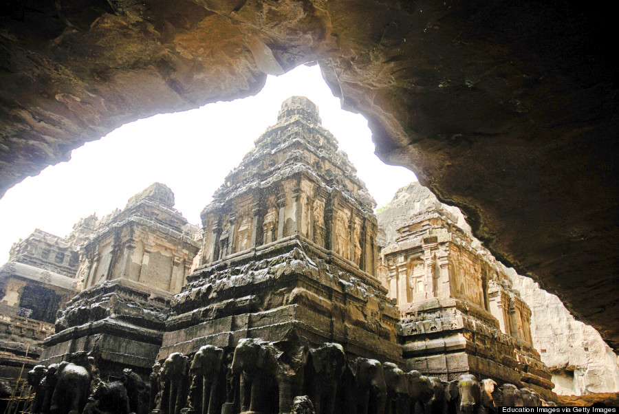 Buddhist Cave Temples Are Jaw-Droppingly Gorgeous O-ELLORA-CAVE-TEMPLE-900