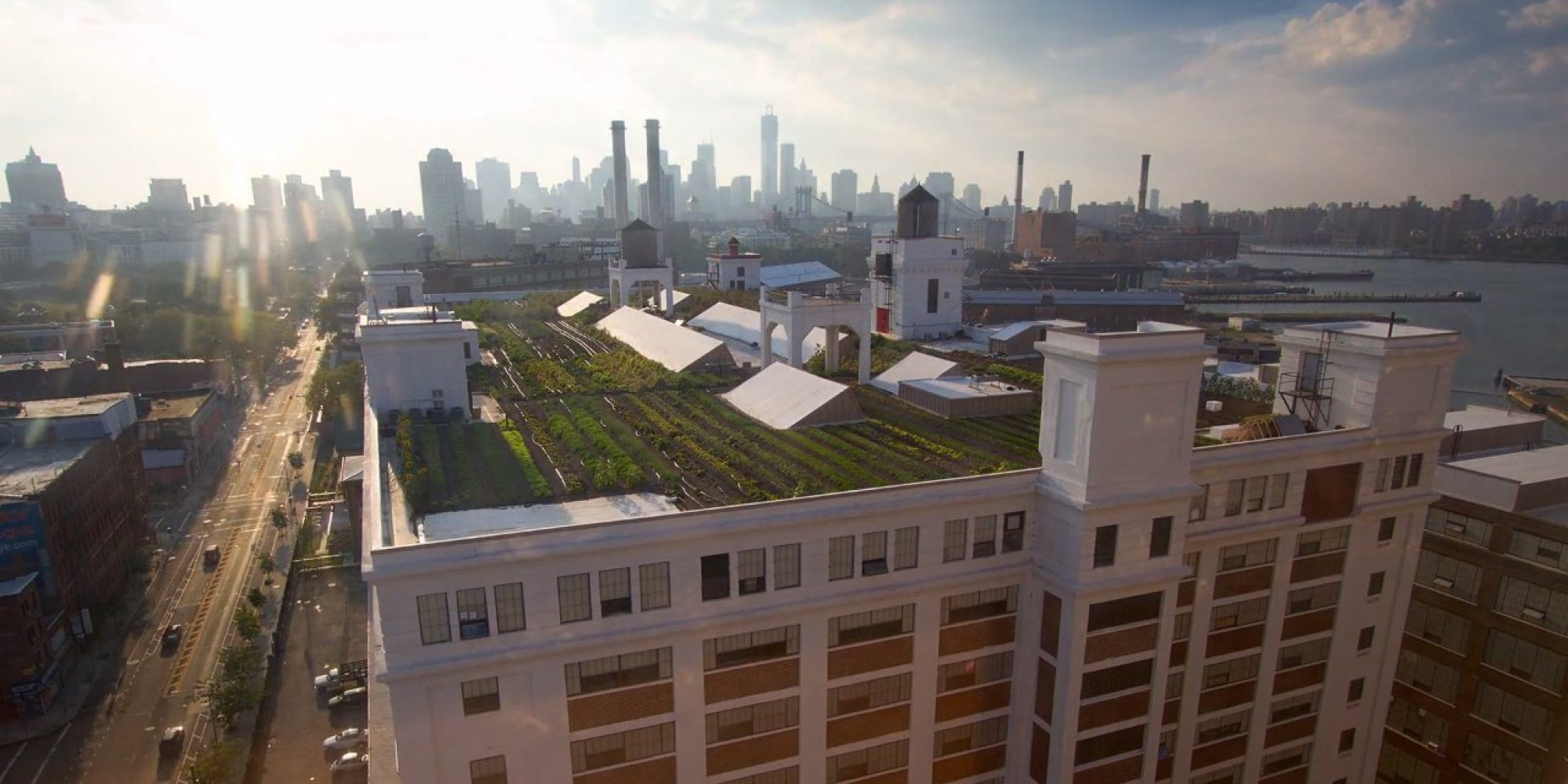 World 39 s largest rooftop farm documents incredible growth - Grange mobel deutschland ...