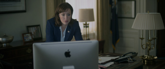 HOUSE OF CARDS MOLLY PARKER