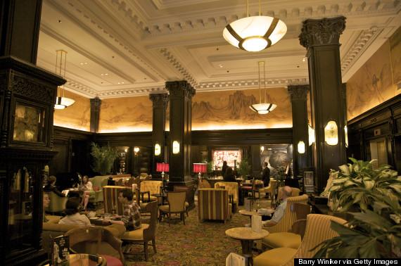 algonquin hotel lobby